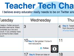Teacher Twitter Challenge