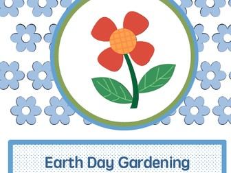 Earth Day gardening activities