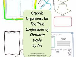 Graphic Organizers Plus Crossword Puzzles  for The True Confessions of Charlotte Doyle