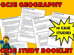 AQA 9-1 GCSE Geography Case Study Booklet