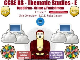 GCSE Buddhism - Forgiveness , Corporal Punishment, Capital Punishment (Crime & Punishment) L7/7
