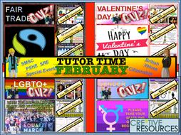 February Tutor Time Form Time