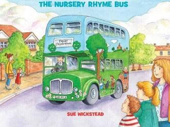 Daisy Daydream the Nursery Rhyme Bus - Transport Topic - Key Stage 1