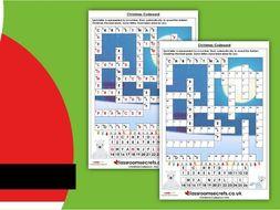 Christmas LKS2 Codeword Spelling Activity
