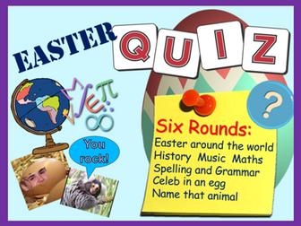 Easter : Easter Quiz 2018