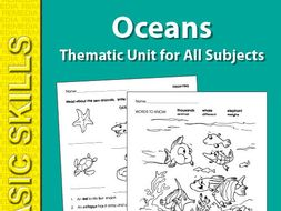 Oceans: Thematic Skill-Builder Unit for All Subjects