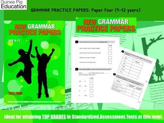 Practise SATS SPAG Grammar Tests (Pack 4) (9-12 years)