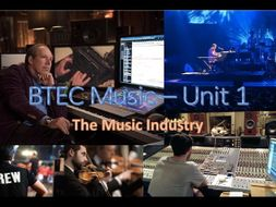 BTEC First Award in Music - Job Roles Flipped Learning Exam-Style Questions