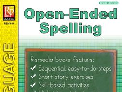 Open-Ended Spelling