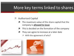 AQA Accounting - Entire SOW on Limited Companies topic AS - Presentation and Resources