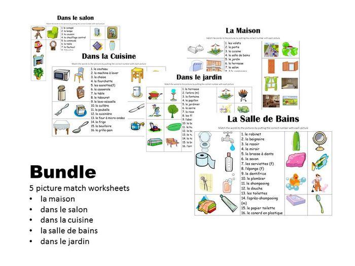 Picture Match Bundle: La Maison