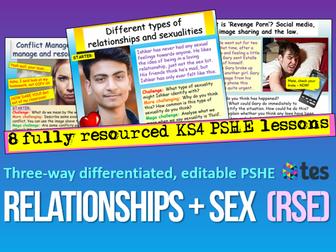 Relationships KS4 PSHE
