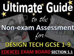 ultimate guide to gcse dt exexcel nea contextual themes and section