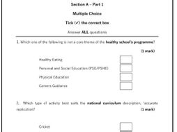 James - Scenario - Full AQA style exam (80 marks) PDF