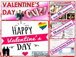 Valentines Day Quiz 2019 - FUN/C8/QZ/60