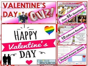 Valentines Day Quiz 2020