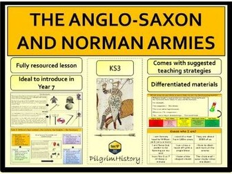 The Anglo-Saxon and Norman armies in 1066