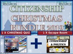Citizenship Christmas 2019 Bundle