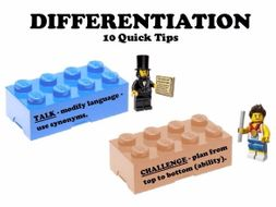 Differentiation - 10 Quick Tips