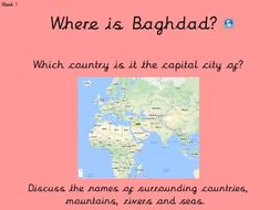 History 6 week unit on Early Islamic Baghdad AD900 (The Islamic Golden Age)