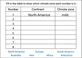 Identifying-world-climate-zones---activity-table---harder.pptx