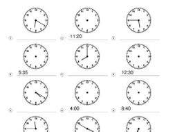 Freebie Telling Time KS1 KS2 Mathematics Clocks Minutes