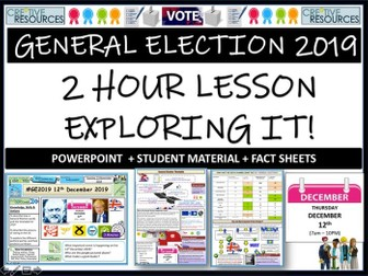 General election 2019 Lesson