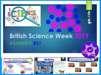 British Science Week 2019 KS1 Assembly
