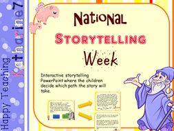 National storytelling week - dynamic story generator powerpoint