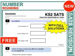 KS2 Maths (Rounding)