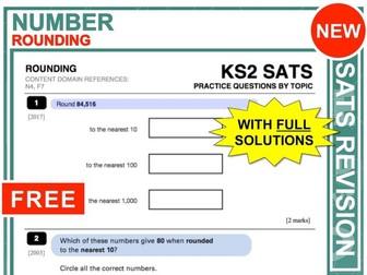 KS2 Maths (Rounding)