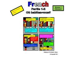 French for Adults: Beginners: Part 2: Numbers 1-10 and where one lives