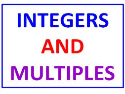 Integers and Multiples