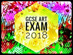 Art Aqa And Edexcel Gcse Art Exam 2018 Supporting Images By