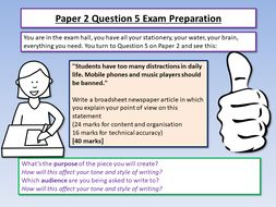 AQA English Language Paper 2 Exam Preparation