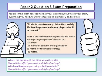AQA English Language Paper 2 Exam Preparation