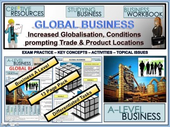 Global Business - Globalisation trade and production locations