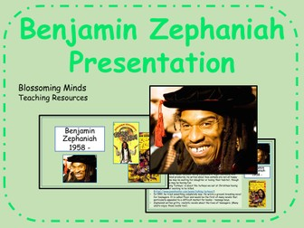 Benjamin Zephaniah Presentation - Black History Month - Poet