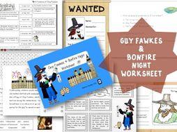 Guy Fawkes & Bonfire Night worksheet