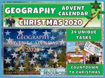 Advent Calendar - Geography