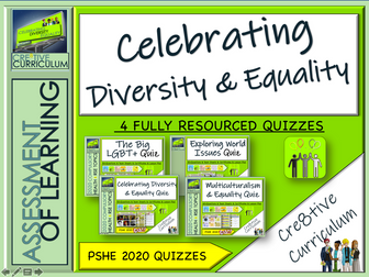 Diversity and Equality PSHE Assessments