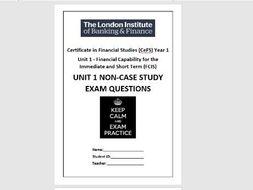 CeFS UNIT 1 Non-Case Study Questions