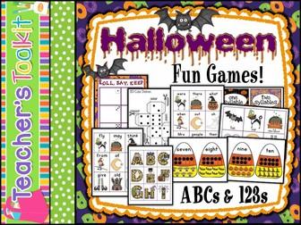 Halloween: Halloween Games Stations