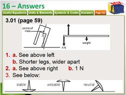 Cambridge GCSE Physics - Unit 16 - Physics  Reference and Answers