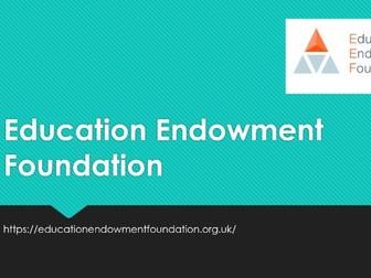 Education Endowment Foundation Pesentation