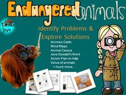 Endangered Animals - Identify Problems & Explore Solutions - STEAM - US
