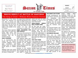 1066 The Saxon Times Resource Book