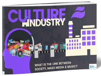 Culture Industry - FULL LESSON