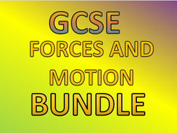 GCSE PHYSICS - FORCES AND MOTION!