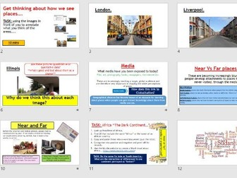 AQA A-LEVEL Changing Places - Media Representation (Lesson + Resources)